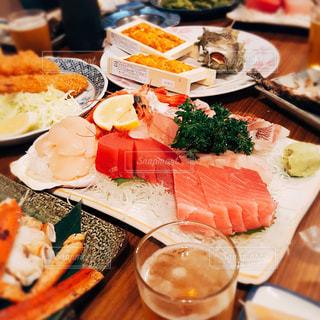 食べ物,屋内,テーブル,料理,刺身,飲み会,日本料理,魚三酒場