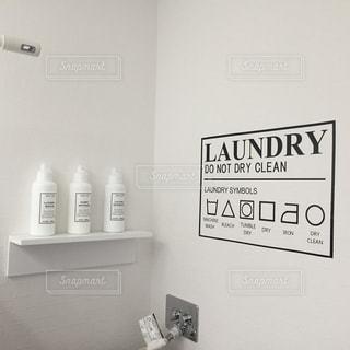 白,部屋,壁,ウォールステッカー,ランドリールーム,洗剤ボトル