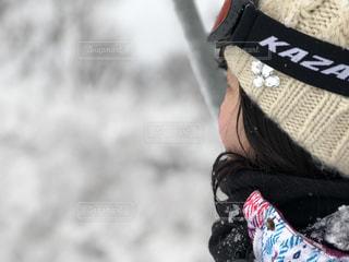 ニット帽の女の子の写真・画像素材[1668147]
