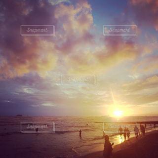 自然,海,雲,旅行,ハワイ