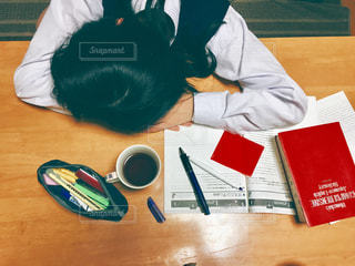 お勉強、一休みの写真・画像素材[1716246]