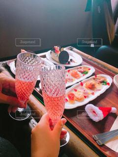食べ物,お酒,クリスマス,ワイン,グラス,記念日,乾杯,ドリンク,パーティー