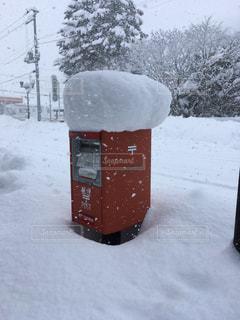 雪,白,街,ポスト