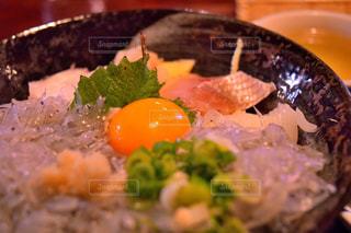 絶品生しらす丼の写真・画像素材[1674681]