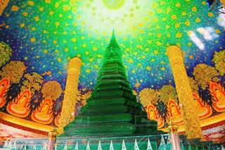 海外,緑,幻想的,旅行,タイ,グリーン,寺院,海外旅行,卒業旅行,タイ旅行,ワット・パクナム