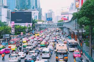 海外,カラフル,車,バイク,アジア,タクシー,タイ,海外旅行,バンコク,渋滞,トゥクトゥク,タイ旅行,セントラルワールド,チットロム