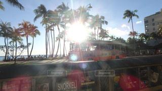 風景,海外,太陽,晴れ,Hawaii,海外旅行,waikiki,ワイキキビーチ