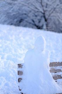 近くに雪の斜面をカバーの写真・画像素材[1667710]