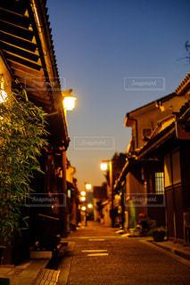 街の通りの写真・画像素材[1708673]