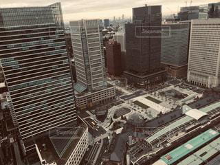都市の高層ビルの写真・画像素材[1671375]