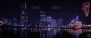 横浜の夜景の写真・画像素材[1687289]