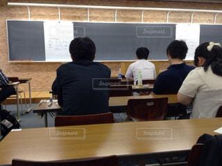 試験会場の写真・画像素材[1690301]