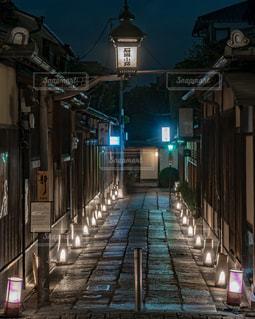 花灯路・石塀小路の写真・画像素材[1688528]