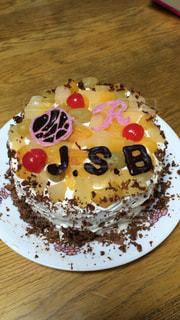 ケーキ,誕生日,手作り,バナナチョコ,三代目JSB