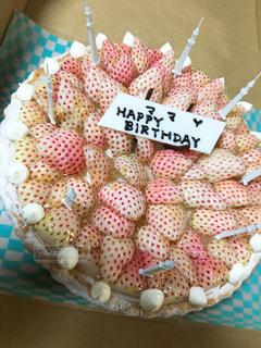 食べ物,ケーキ,誕生日,白いちご