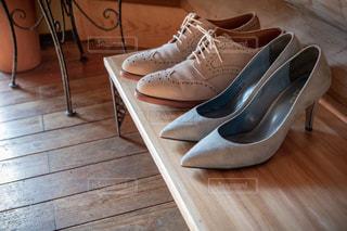 靴のカップルの写真・画像素材[1798591]