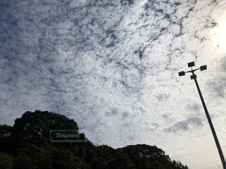 太陽と雲の写真・画像素材[2478527]