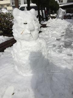 自然,冬,雪,屋外,白,雪だるま,ゆき