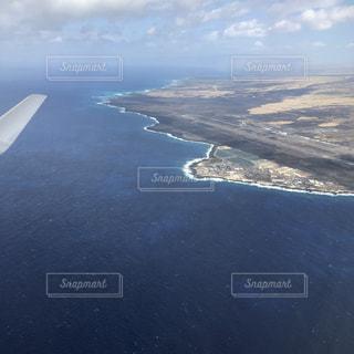 風景,海,飛行機,景色,観光,旅行,空港,ハワイ,ハワイ島,海外旅行,コナ