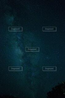 織姫と彦星を隔てる天の川の写真・画像素材[3664063]