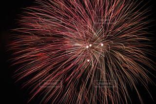 空に花火の写真・画像素材[1686844]