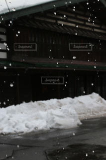 雪解けの写真・画像素材[1735141]