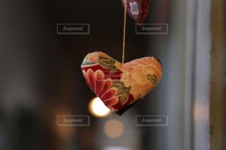 近くに彼女は手に花を持つ花瓶のアップの写真・画像素材[1778960]