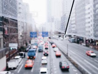 雨の街の写真・画像素材[1677691]