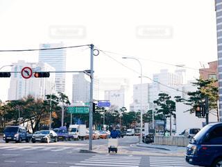 ソウルの朝の写真・画像素材[1677699]