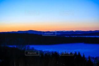 網走湖凍結の写真・画像素材[1809071]
