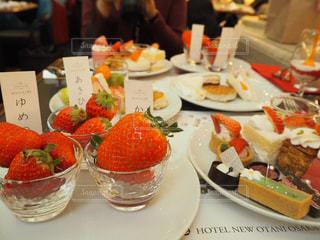 スイーツ,赤,いちご,苺,果物,フレッシュ,イチゴ,スイーツビュッフェ