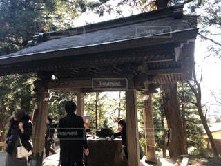 新倉浅間神社にての写真・画像素材[1728247]