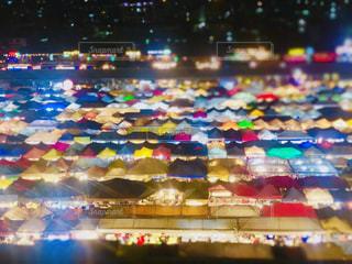 風景,夜景,屋外,海外,カラフル,屋台,旅行,タイ,テント,バンコク,ナイトマーケット