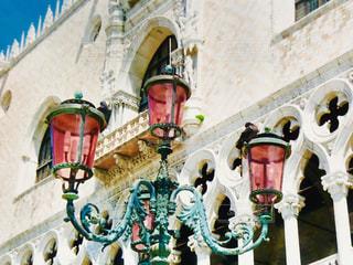 風景,屋外,海外,青空,旅行,街灯,イタリア,ヴェネツィア