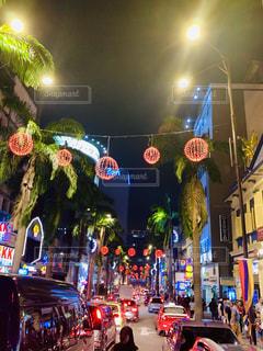 風景,空,夜,夜景,屋内,景色,屋根,マレーシア,東南アジア,イスラム,海外旅行,他宗教