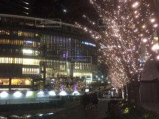 夜の街の景色の写真・画像素材[1689235]