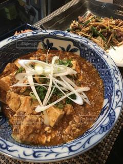 麻婆豆腐と青椒肉絲の写真・画像素材[1764887]