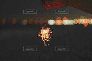 光のクローズアップの写真・画像素材[3619142]