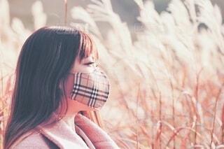 マスクをしてる人の写真・画像素材[3963590]