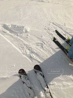 雪の上の写真・画像素材[1760484]