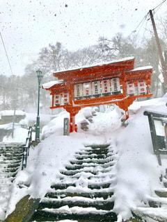 雪の山の写真・画像素材[1785734]