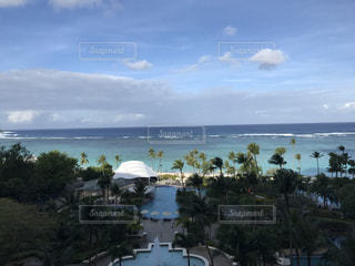 海,プール,ホテル,グアム,海外旅行