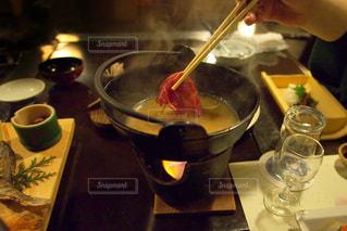 イノシシ鍋でジビエの写真・画像素材[1702643]