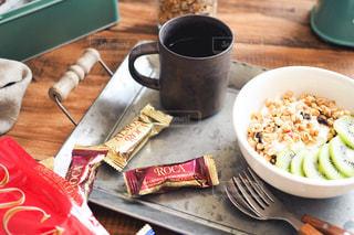テーブル,おうちカフェ,アーモンドロカ