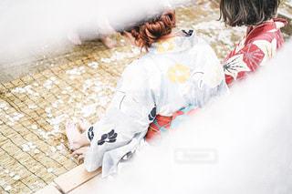 浴衣美人の隠し撮りの写真・画像素材[2305997]