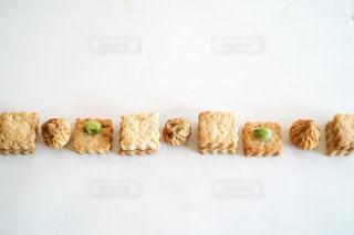 食べ物をテーブルの上に閉じるの写真・画像素材[3044915]