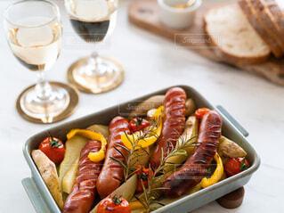 グリル,ワイン,夕食,おつまみ,ジョンソンヴィル