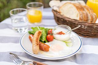 朝食,ブランチ,ガーデン,おうちピクニック,ジョンソンヴィル