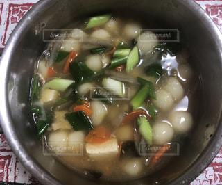 当別母さんの芋だんご汁の写真・画像素材[1693740]