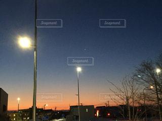 夜景の始まりの写真・画像素材[1696530]